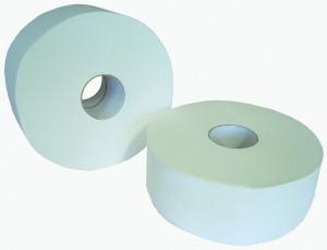 Papiers toilette en rouleaux