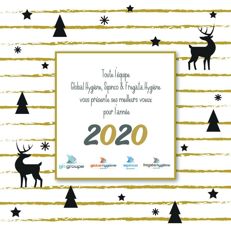 Meilleurs Vœux 2020 !